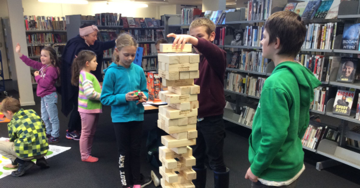 Take the Games Challenge with Selwyn Libraries