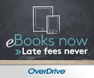 Overdrive - no late fees