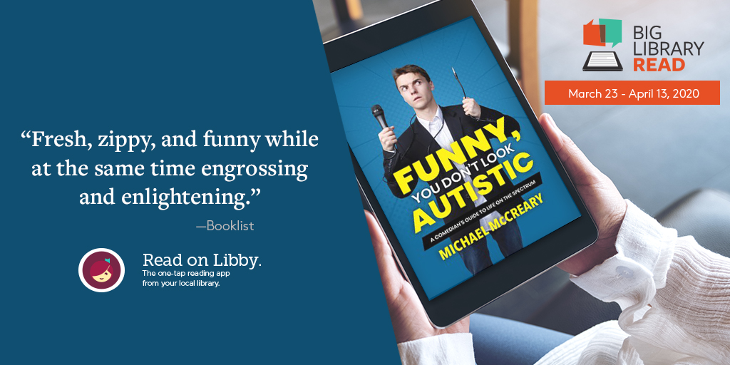 Funny, You Don't Look Autistic: Big Library Read